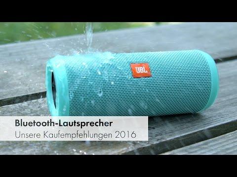 Bluetooth-Lautsprecher: Test und Vergleich 2016 [Deutsch]