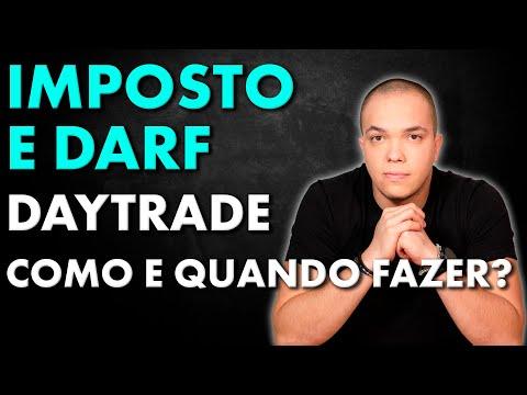 IMPOSTO DE RENDA E DARF DAY TRADE 2020 ! Como Fazer?
