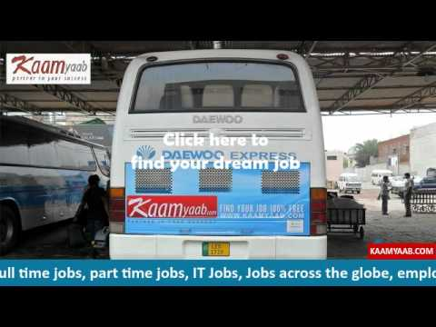 Download Leading  on line Jobs provider kaamyaab.com with Daewoo Express HD Mp4 3GP Video and MP3