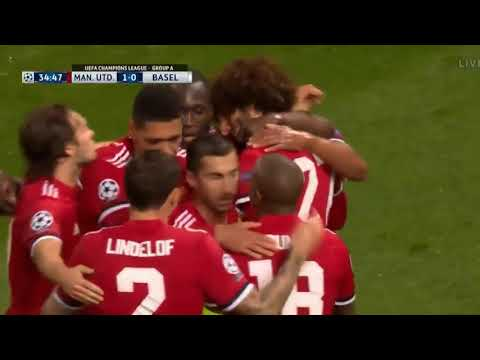 Manchester United vs Basel 3-0   Highlights & Goals  12.9.2017