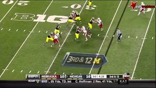 Stanley Jean-Baptiste vs Michigan (2013)