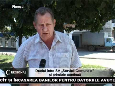"""Duelul între SA """"Servicii Comunale"""" și primărie continuă"""