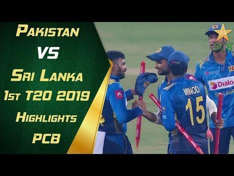 Pakistan vs Sri Lanka 2019 | 1st T20 | Highlights | PCB