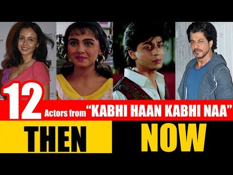 "12 Bollywood Actors From ""KABHI HAAN KABHI NAA"" 1994 