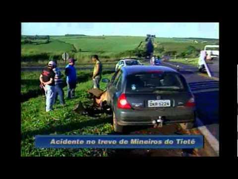 Fala Cidade - 29/05/2012 - Acidente no trevo de Mineiros do Tietê