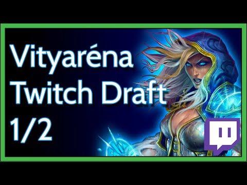VITYARÉNA #1 - Twitch Draft, avagy meme value 1/2