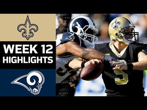 Video: Saints vs. Rams | NFL Week 12 Game Highlights
