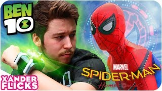 Video Ben 10 vs Spider-Man - XanderFlicks MP3, 3GP, MP4, WEBM, AVI, FLV Juni 2017