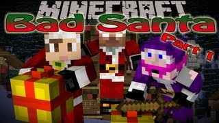 Minecraft: Bad Santa part 1 w/Kkcomics - Satan Santa (Custom map by Podcrash)