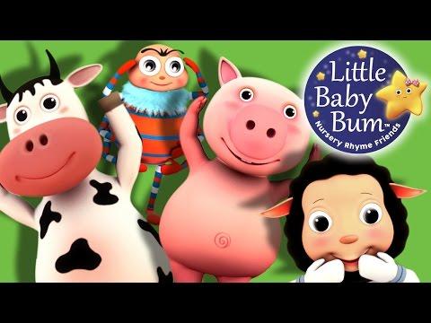 Head Shoulders Knees and Toes   Part 2   Nursery Rhymes   by LittleBabyBum!
