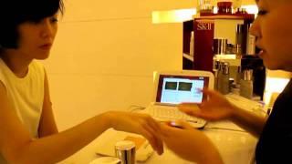 黎堅惠 SKII 3:使用神仙水的正確方法及即時功效