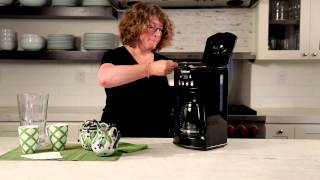 12-Cup Programmable Coffeemaker Demo Video Icon