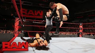 WWE's first Universal Champion takes on an aggressive Bo Dallas on Raw. #RAW More ACTION on WWE NETWORK...
