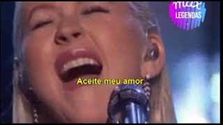 Video Christina Aguilera - Tributo Whitney Houston (Legendado) (AMAs 2017) MP3, 3GP, MP4, WEBM, AVI, FLV Agustus 2018