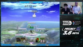 Here's a set against Kage the Warrior