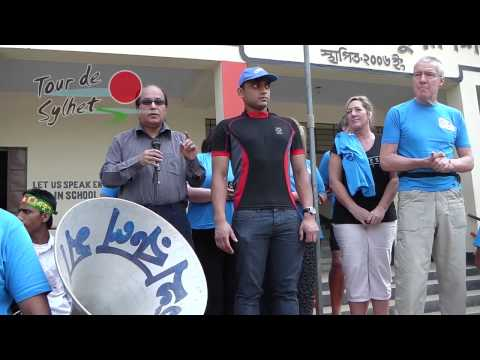 sylhet - This is the first Video from the 2014 Tour de Sylhet team. This was a cycle tour around Sylhet, Bangladesh. Led by Phil Buclkey who did his first 150-mile cy...