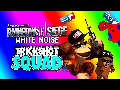 Rainbow Six Siege White Noise Deutsch - Trickshot Squad