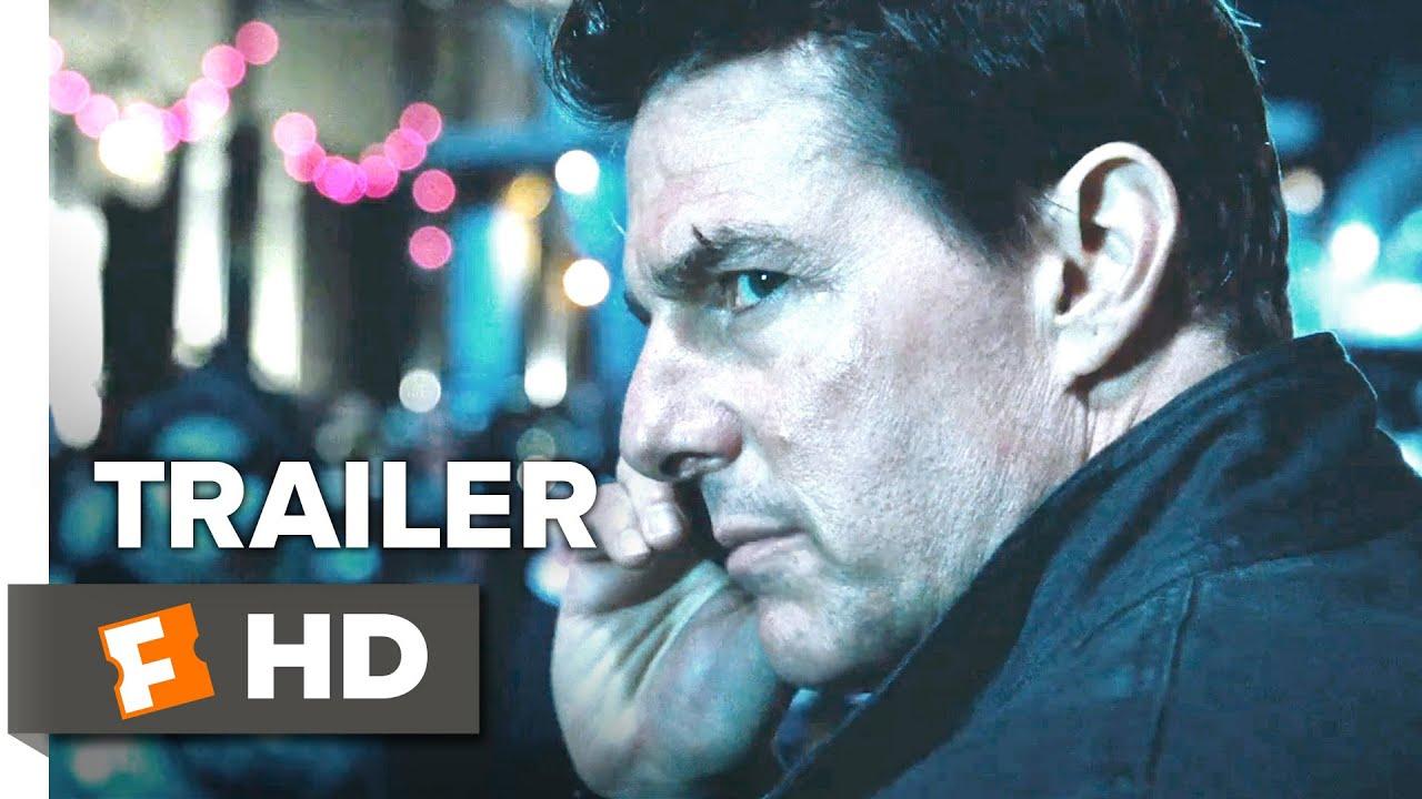 Jack Reacher: Never Go Back Official Trailer #1 (2016) - Tom Cruise, Cobie Smulders Movie HD
