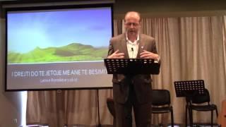 02 Tetor 2016 Romakëve 8:4-17 Pjesa 1 Duke jetuar si bijtë e Perëndisë: Fryma vërteton që jemi bijtë
