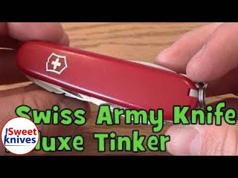 Victorinox Swiss Army Knife Deluxe Tinker Review Officer Suisse