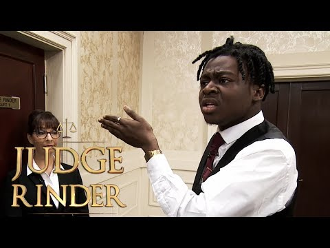 Angry Plaintiff Claims Judge Judy Is Better Than Judge Rinder | Judge Rinder