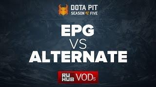 Elements Pro Gaming vs Alternate, Dota Pit Season 5, game 1 [Lex, Adekvat]