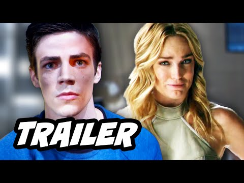 Legends Of Tomorrow Trailer - The Flash And Arrow Spinoff