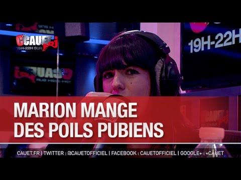 Marion mange des poils pubiens - C'Cauet sur NRJ