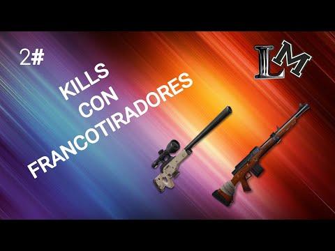 KILLS con FRANCOTIRADORES!! / LauMat 45