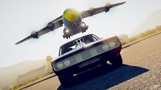 Nonton Fast & Furious - Race The Cargo Plane - Dodge Charger R/T - Forza Horizon 2 Film Subtitle Indonesia Streaming Movie Download