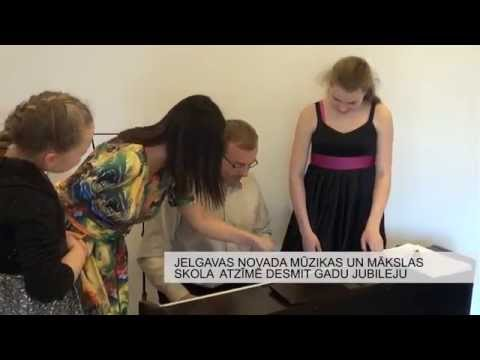 Jelgavas novada mūzikas un mākslas skola svin desmit gadu jubileju