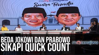 Video Suara Penentu: Beda Jokowi dan Prabowo Sikapi Quick Count (Part 2) | Mata Najwa MP3, 3GP, MP4, WEBM, AVI, FLV April 2019