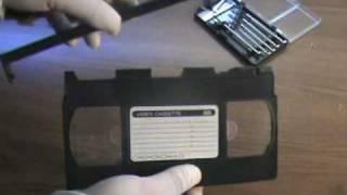 Hack A VHS!!!! The Results: A Mini-Pinball Machine!!!!   Nextraker