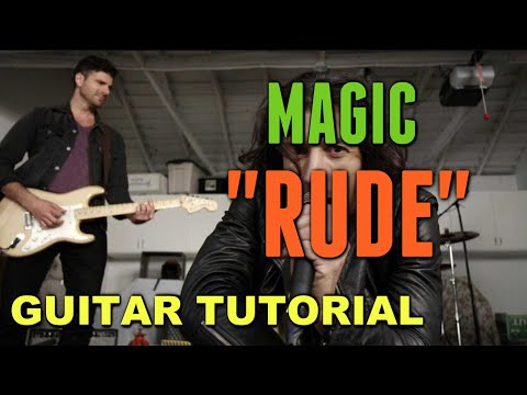 Rude – Magic! *Guitar LESSON*