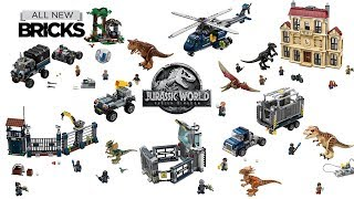 Video Lego Jurassic World Fallen Kingdom Compilation of All Sets MP3, 3GP, MP4, WEBM, AVI, FLV Juli 2019