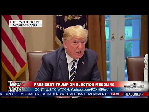 POTUS MISSPOKE: President Trump On Russian Meddling During 2016 Election