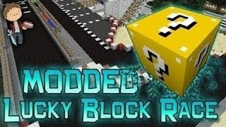 Minecraft: Lucky Block Race 5 FINALE! Modded Mini-Game w/Mitch&Friends!