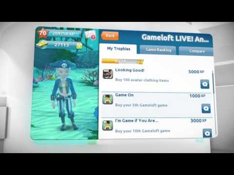 Video of Gameloft LIVE!