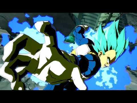 Trailer de Vegeta en Super Saiyan God Super Saiyan de Dragon Ball FighterZ