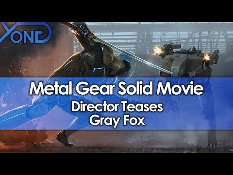 Metal Gear Solid Movie Director Teases Gray Fox