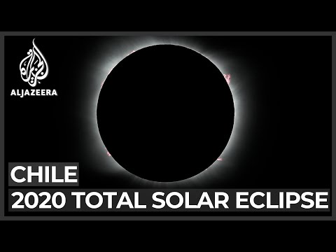 South American solar eclipse