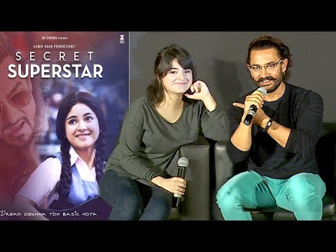 Video Aamir Khan's CUTE Dangal Daughter Zaira Wasim Who Is Now Acting In Secret Superstar Movie download in MP3, 3GP, MP4, WEBM, AVI, FLV January 2017