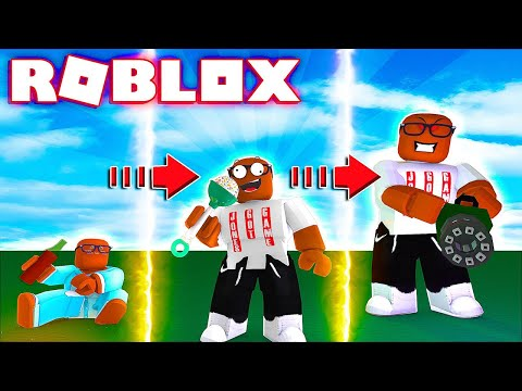 From Baby To Adult In Roblox (Roblox Baby Simulator)