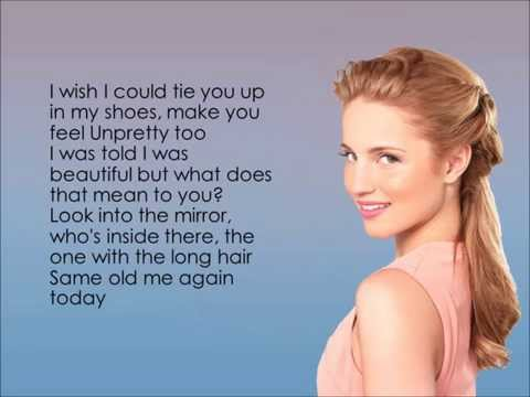 Glee - I Feel Pretty/Unpretty (Lyrics)