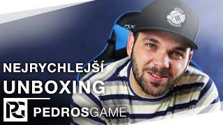 Pedros - Nejrychlejší Unboxing