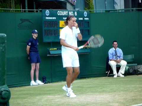 Alexandr Dolgopolov en Wimbledon