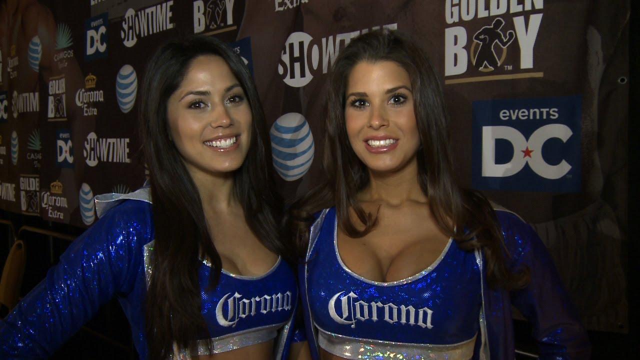 Corona Girls – Get Ready for Hopkins vs. Shumenov – SHOWTIME Boxing