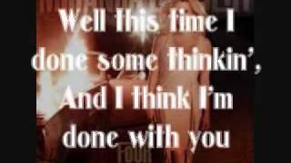 Miranda Lambert - Same Old You [Lyrics On Screen]