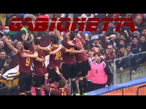 salernitana - benevento 2-0 il gran gol di gabionetta