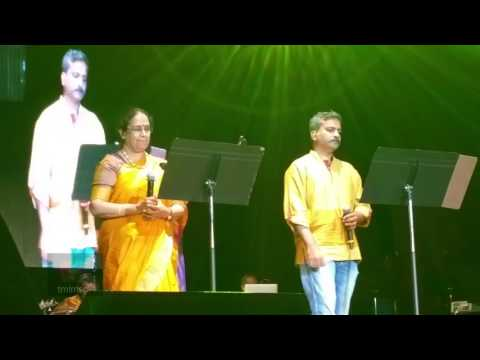 Video SPB 50 World Tour, Detroit - S. P. B. Charan and S. P. Sailaja sing Malare Mounama download in MP3, 3GP, MP4, WEBM, AVI, FLV January 2017